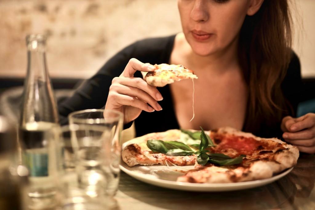 Pizza brød